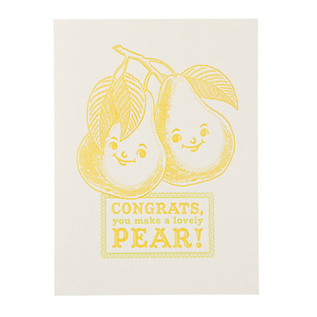 Lovely Pear Card