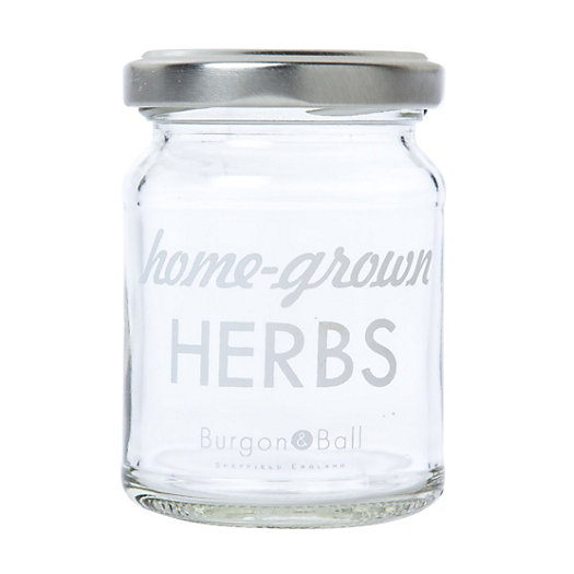 Printed Herb Jar