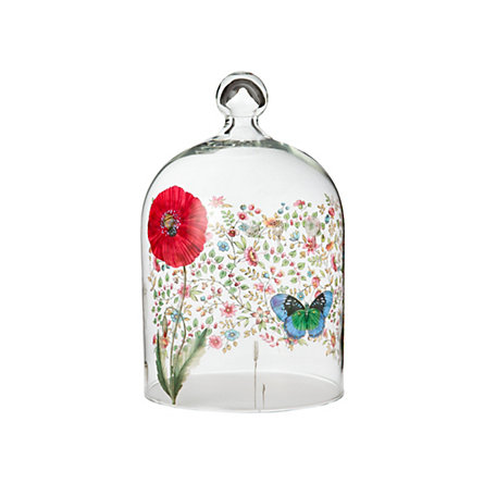 Poppy & Butterfly Cloche