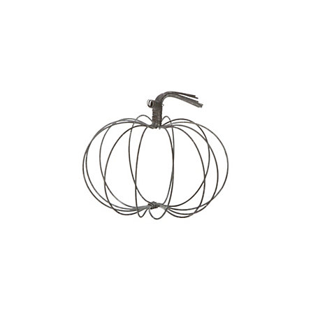 Rustic Wire Pumpkin, Small
