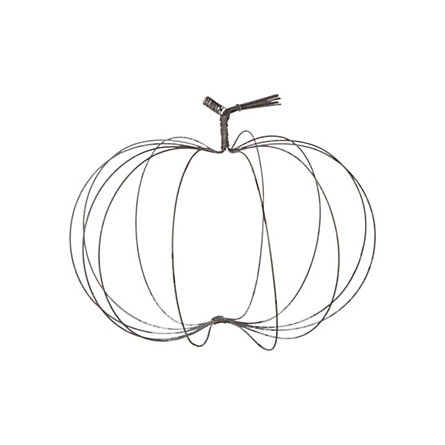 Rustic Wire Pumpkin, Medium
