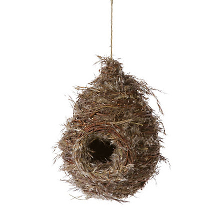 Grass & Twig Birdhouse