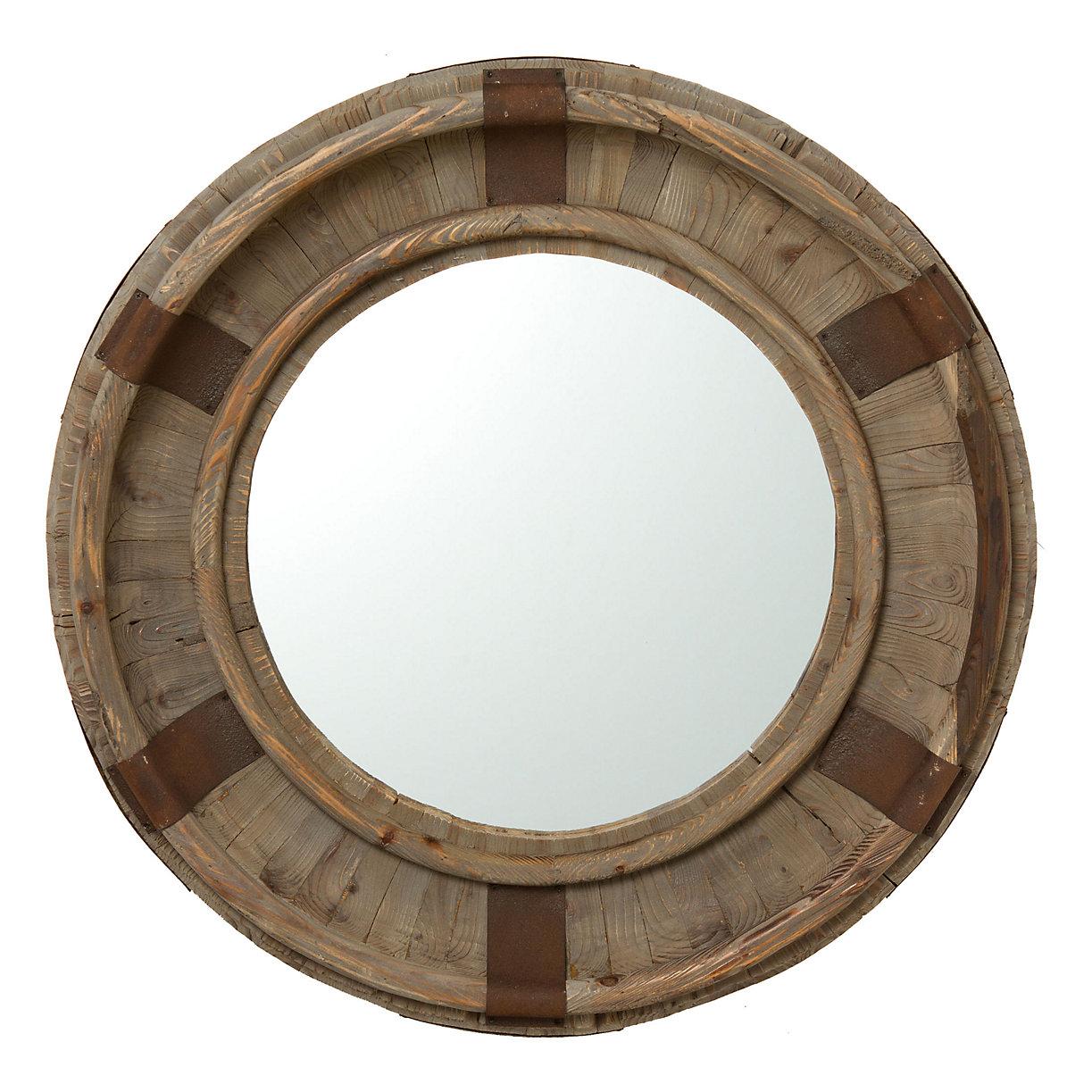 Round Wood Mirror Terrain
