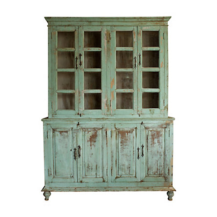 Distressed Wood Cabinet