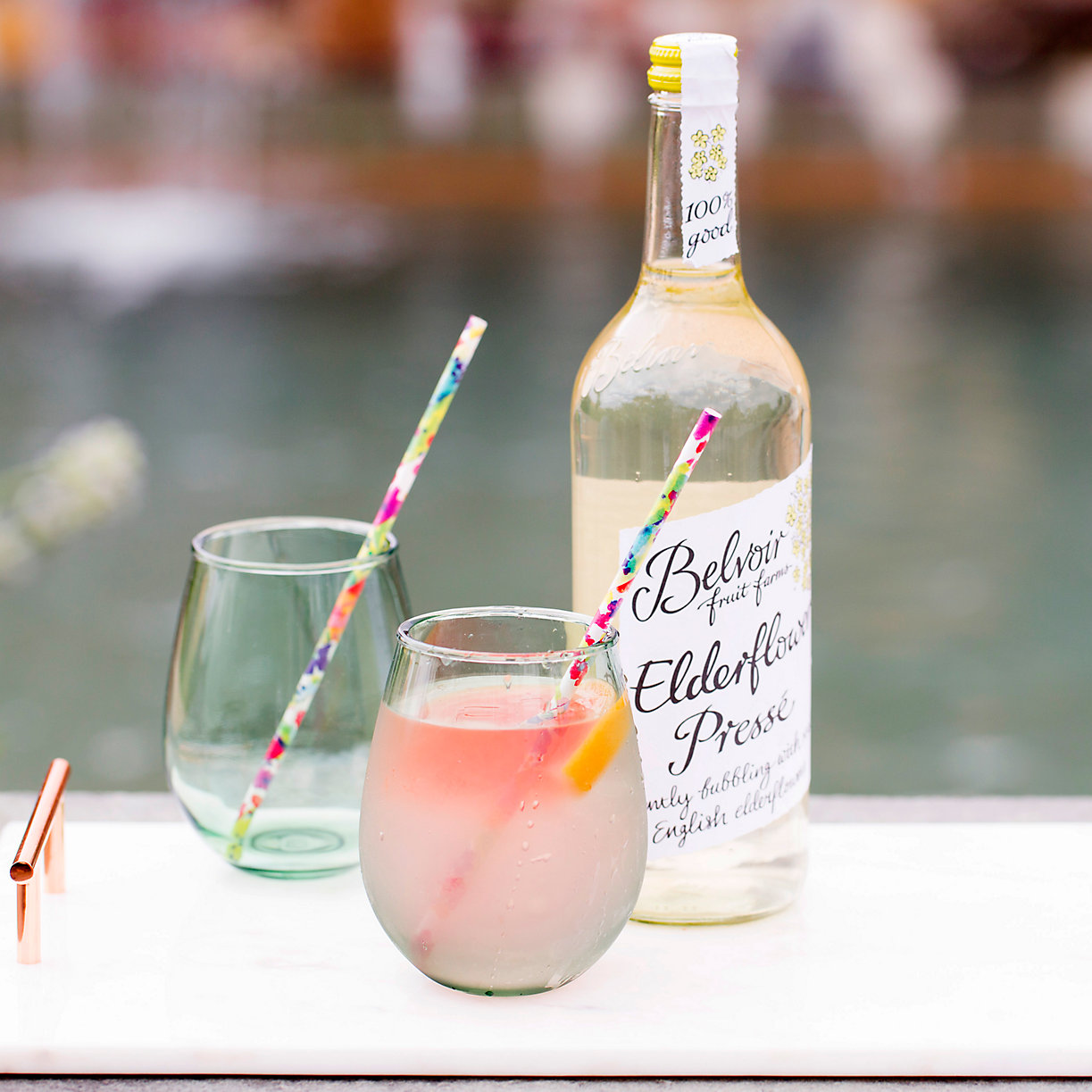 Elderflower Spritzer