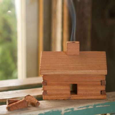 Cabin Incense Burner