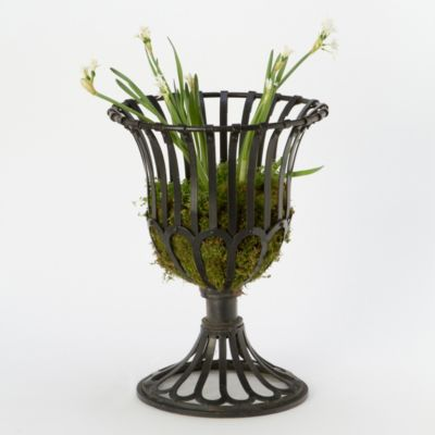 Scalloped Urn Planter