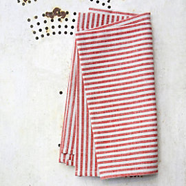 Red Striped Napkin