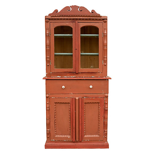 Painted Folkloric Hutch
