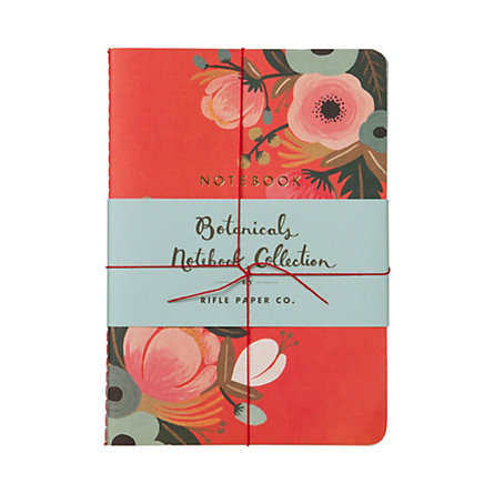 Botanicals Notebook Trio