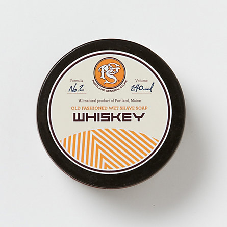 Portland General Store Whiskey Shave Soap