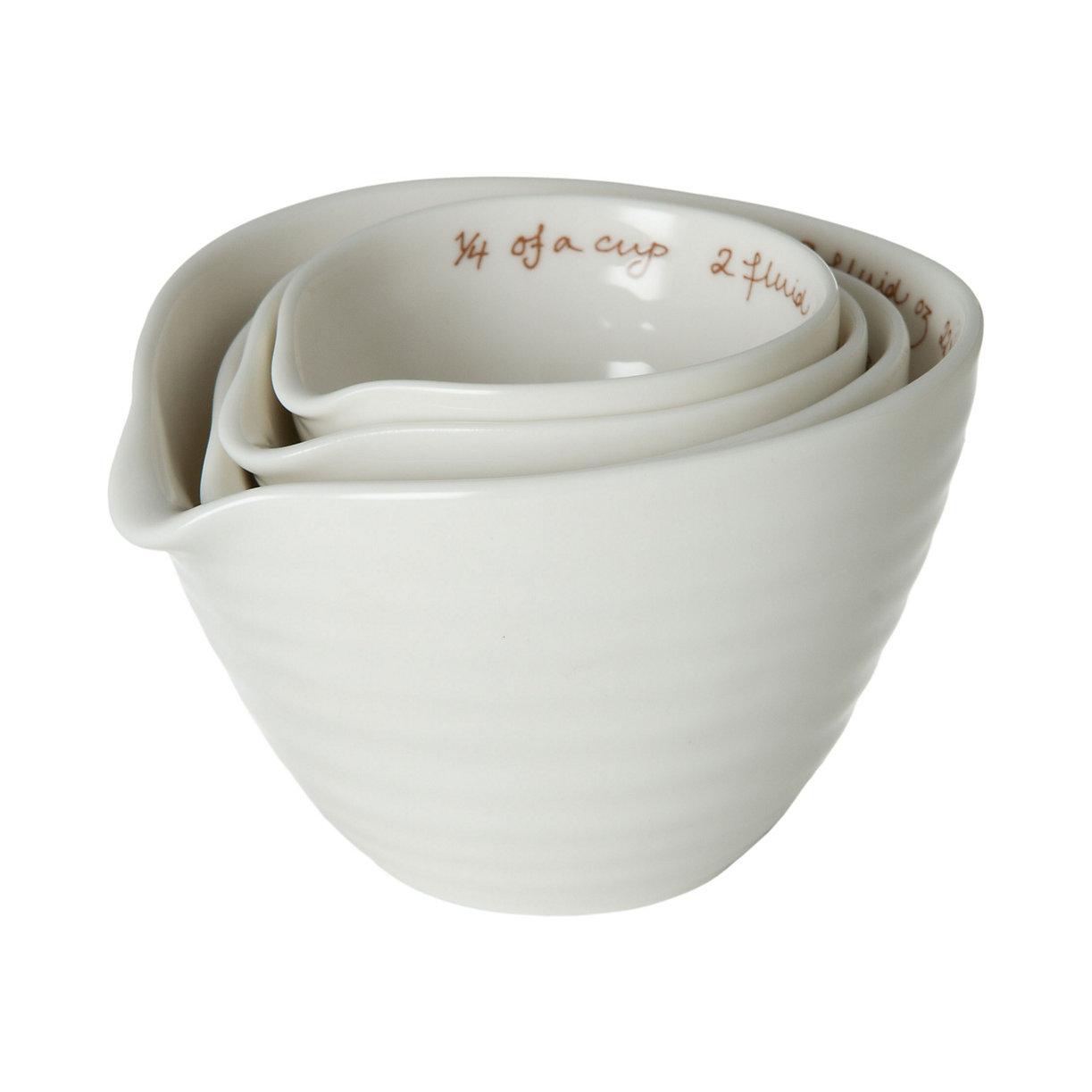 Porcelain Nested Measuring Cups | Terrain