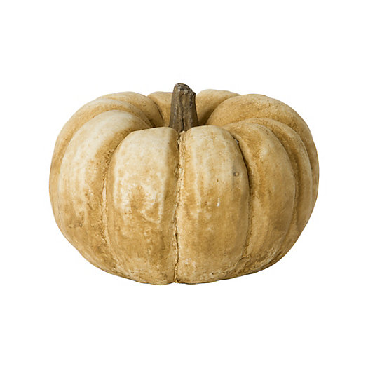 Cast Stone Pumpkin
