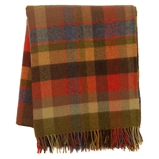 Avoca Plaid Throw
