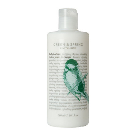 Green & Spring Revitalizing Body Lotion