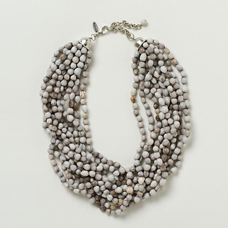Layered Riverbed Necklace