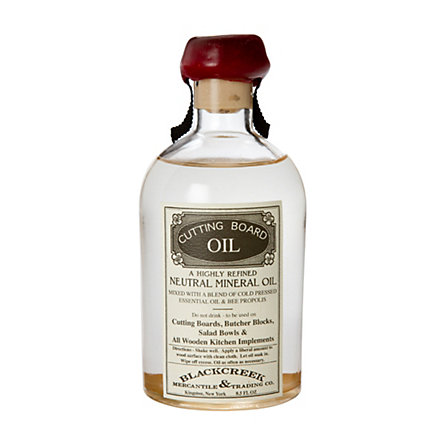 Blackcreek Mercantile Cutting Board Oil
