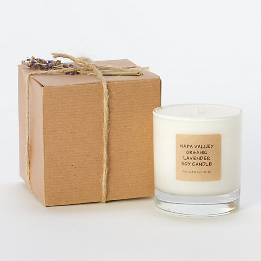 Organic Lavender Soy Candle