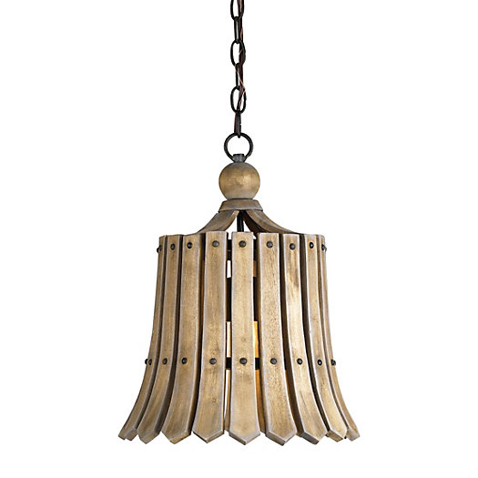 Slatted Gate Pendant