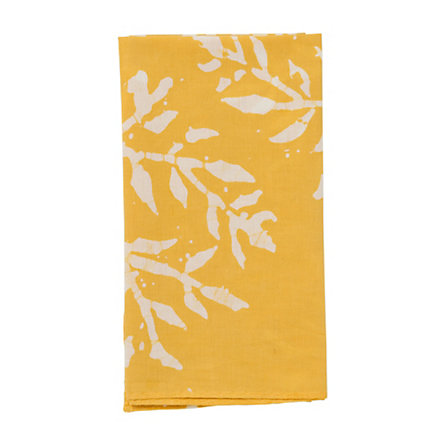 Gathered Leaves Napkin