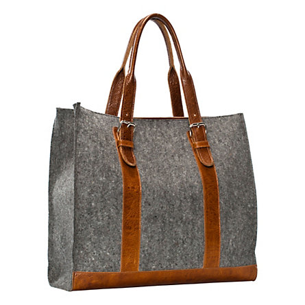 Felt & Leather Carryall