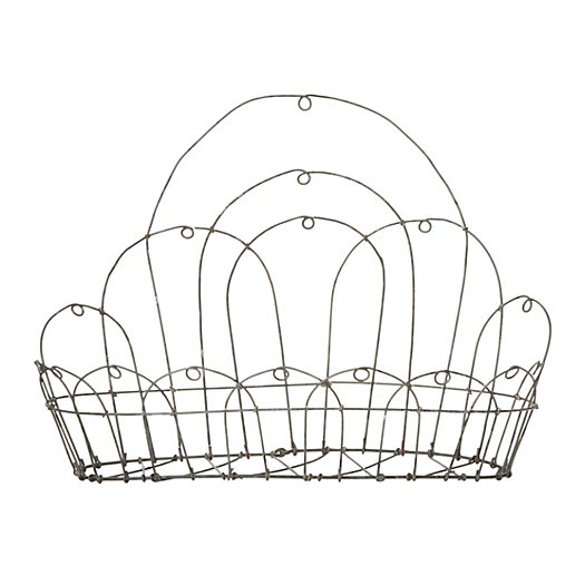 Looped Wire Wall Basket