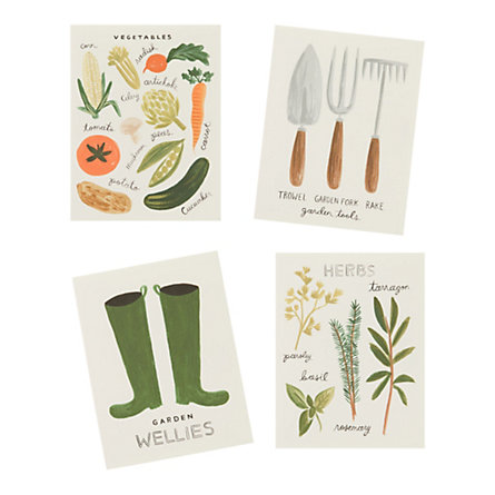 Homegrown Garden Cards