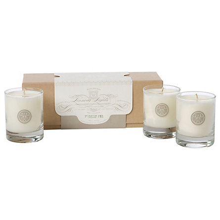 Linnea's Lights Fir Candle Trio