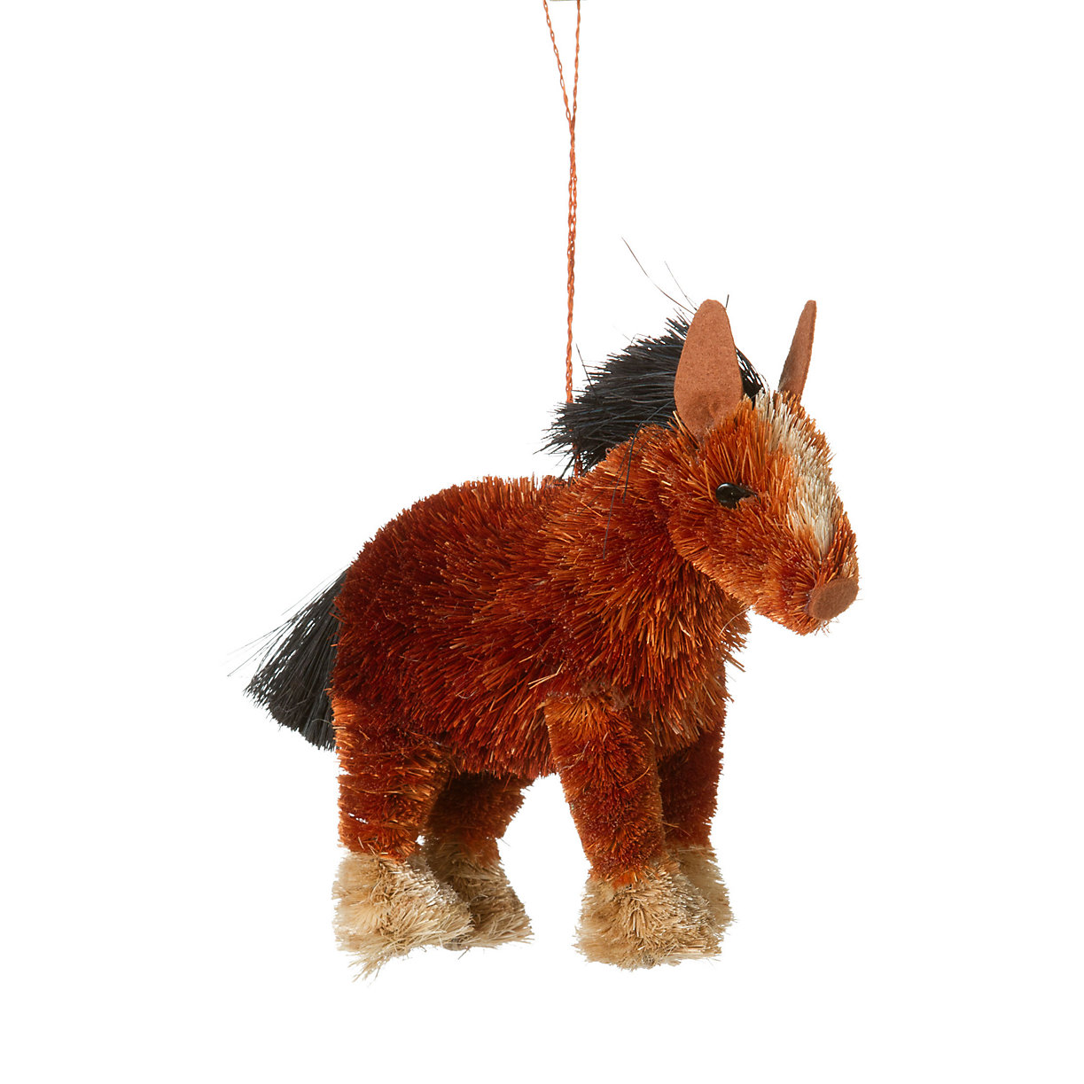 Bristle brush ornaments - Bristle Brush Clydesdale Ornament Loading Zoom