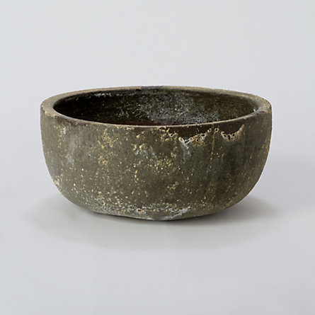 Antique Patina Low Bowl