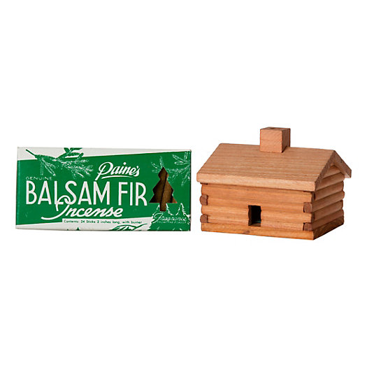 Log Cabin Incense, Balsam Fir