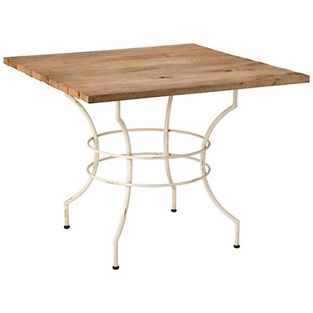 Live Wood Bistro Table