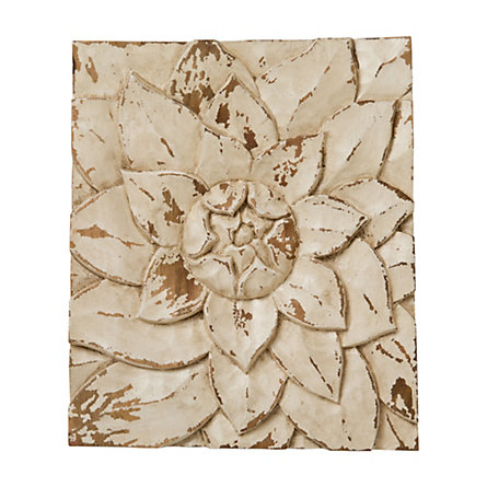 Lotus Petals Wall Plaque