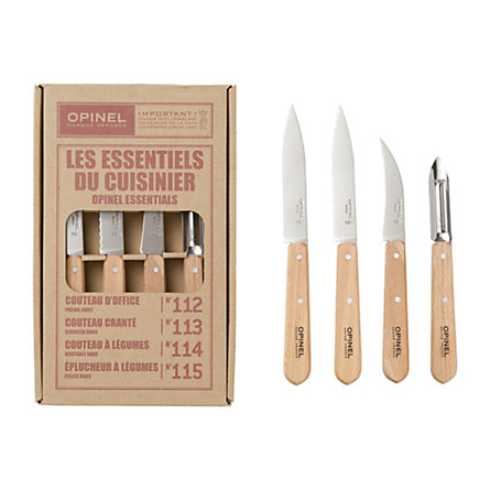 Natural Opinel Knife Set