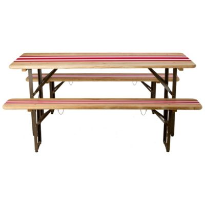 Striped Biergarten Dining Set