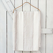 Linen Striped Tablecloth