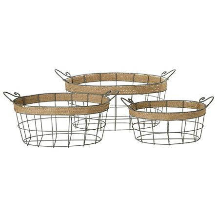 Iron & Twine Nested Baskets