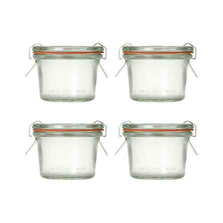 2.7 oz. Weck Jar Set