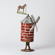 Folk Art Windmill