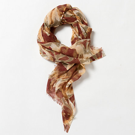 Dashed Dahlia Scarf