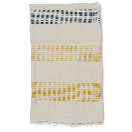 Cotton Tile Throw