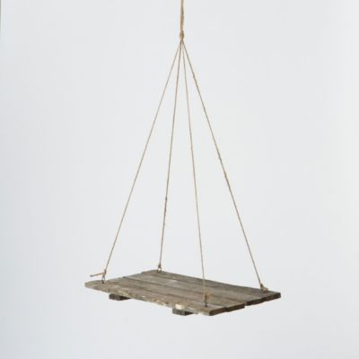 Suspended Crate Shelf