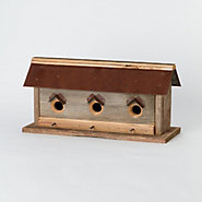 North Coast Barn Wood Birdhouse