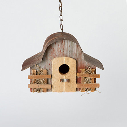 Midwest Barn Wood Birdhouse