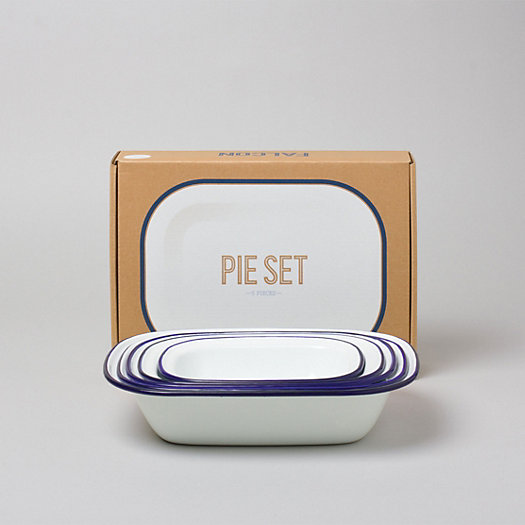 Enamelware Pie Set