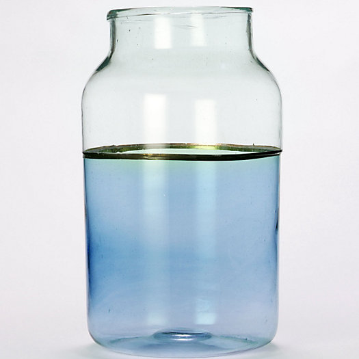 Colorblock Apothecary Jar