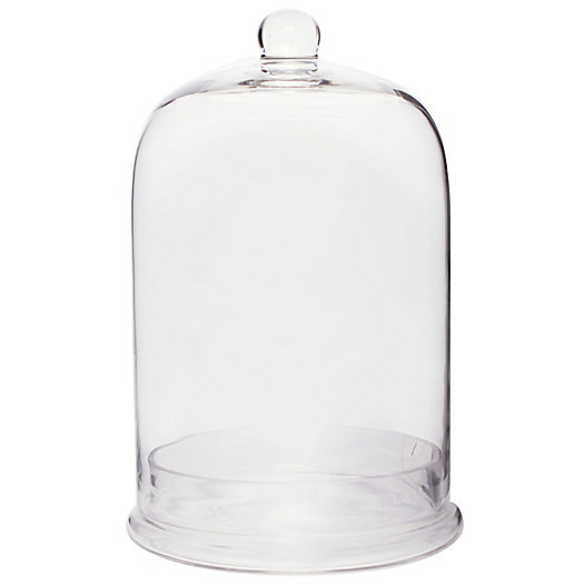 Glass Cloche With Base