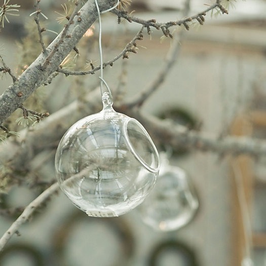 Glass Hanging Orb