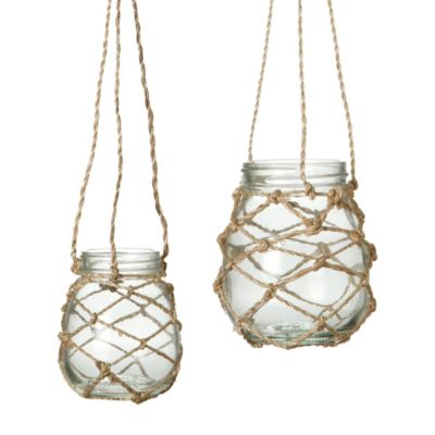 Glass & Twine Lantern Set