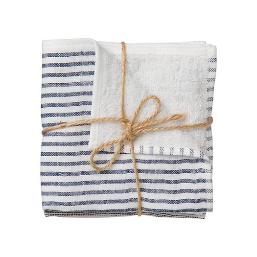 Striped Washcloths